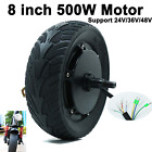 8 Inch 500w Tire Conversion with Motor for Electric Scooter Accessories Replacem