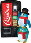 CHRISTMAS 65 Ft PENGUIN SODA MACHINE Airblown Inflatable YARD DECORATION