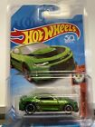 Hot Wheels 2017 Camaro ZL1 Super Treasure Hunt CARD VARIATION Minor crease