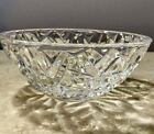Authentic Tiffany  Co Crystal Bowl 6 Made in Italy Rock Cut Pattern New