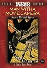 Man With A Movie Camera DVD Multiple Formats Black  White Ntsc Silent VG