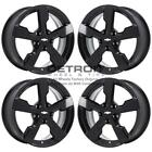 17 CHEVROLET VOLT GLOSS BLACK EXCHANGE WHEELS RIMS FACTORY OEM 5481 2011 2015