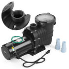 2HP 110 240v Inground Swimming Pool pump motor Strainer UL Certified USA