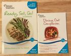 Weight Watchers Points Plus Dining Out Companion Book  Ready Set Go Cookbook 2