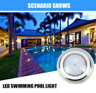 54W RGB LED Swimming Pool Light Underwater SPA Waterproof Lamp+Remote Control US