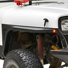 Fits 87 95 Jeep Wrangler YJ Front Fender with Flare and LED Eagle Lights