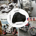 Motorcycle Cover Waterproof Heavy Duty XXXXL Large For Winter Storage Snow Rain