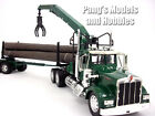 Kenworth W900 Log Trailer Hauler 1 32 Scale Diecast and Plastic Model by Newray