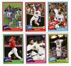 2018 Topps Throwback Thursday 1981 Design Complete Set 6 Cards Ronald Acuna RC