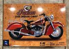 NewRay1948 Indian Chief Motorcycle Die Cast 16 Scale Model RARE