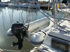 CARIBE RIB INFLATABLE BOAT NISSAN 98 HP BOTH APPROX 80 HRS PLUS BOAT TRAILER