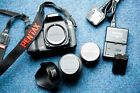 Pentax K K20D 14.6MP Black  PLUS  18-55mm Lens AND 50mm 1.7
