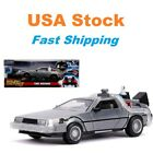 Back to the Future II DeLorean Time Machine w lights Diecast Car 825 124
