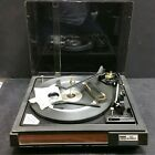 AS IS Vintage McDonald BSR4800 Record Player Turntable with Dust Cover Ect
