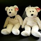 Bride and Groom Bears Mr and Mrs Ty Beanie Buddies 2003 14