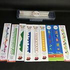 Sizzix 9 Sizzlits Decorative Strips Lot with Case NEW