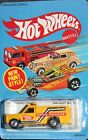 Hotwheels 1986 Rescue Ranger Race Rescue Yellow with BW Mint on Unpunched Card