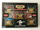 Matchbox Collectibles Mustang Collection 5 Car Set Sealed 1999 New in Box 164