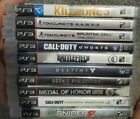 PS3 Action/Shooter lot. Medal of honor, call of duty, killzone etc