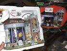 SPOOKY TOWN Halloween Village WICKED FAST BROOMSTICKS Animated LEMAX