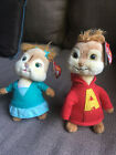 NWT ALVIN AND CHIPMUNKS CHIPETTES ELEANOR BEANIES TY NWT COLLECTABLE TWO!!!