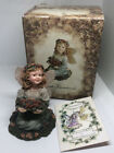 Boyd's Bear Faeriessence Faeriewood Collection Leah Gathering Berries #36029 EUC