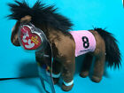 Ty Beanie Baby Barbaro  w/ Kentucky Derby Store Exclusive Horse Tag VISA
