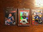 Tim Tebow Refractors! 1 Red Die Cut & 2 Blue Press Pass