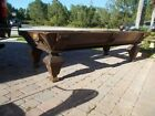 1876 Antique 9 H W Collender Pool Table