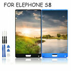 For Elephone S8 LCD Display Touch Screen Digitizer Assembly Replacement+Tools SX