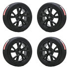 18 NISSAN MAXIMA ALTIMA GLOSS BLACK WHEELS RIMS TIRES FACTORY OEM SET 4 62721