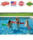 Large Thick Foam Pool Noodle Swimming Pool Super Soft Floating Noodles Green NEW
