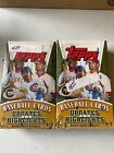 2005 Topps Baseball Updates and Highlights Sealed Boxes - Lot of 2