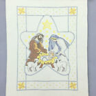HERRSCHNERS Nativity Xmas wall hanging lap quilt cross stitch kit  thread