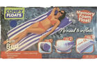 Comfy Floats Sun Bed Large Swimming Pool Float Memory Foam No Air Needed NEW