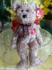 TY Beanie Babies ~ 2002 SIGNATURE BEAR #4565 with Tag Protector New