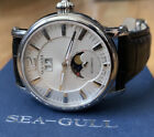 Seagull M308S Moonphase Automatic Mens Watch
