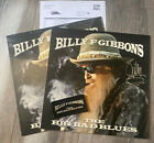 Billy Gibbons SIGNED The Big Bad Blues ZZ Top Vinyl LP Autographed With Patch