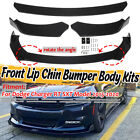 Front Bumper Lip Spoiler Splitters Protector For Dodge Charger RT SXT 2015 2020