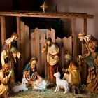 Nativity Scene Background Jesus Lifesize Digital Photo Backdrop Studio 10x10ft