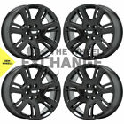 22 Cadillac Escalade Black wheels rims Factory OEM set 4738 EXCHANGE