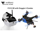 Walkera Racing drone F210 3D with Goggle 4 combo extra free battery FPV Camera