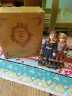 Sweet Boyd's Bears Dollstone Gretchen and Kate Figurine 2002 with Box 3580