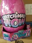 HATCHIMALS WOW Llamacorn 32 Inch Tall Interactive with Re Hatchable Egg