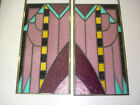 2 Beautiful Stained glass window Huge Made By A Master Highest Quality 3
