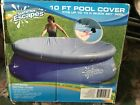 BRAND NEW IN ORIGINAL BOX SUMMER ESCAPES 10 FOOT POOL COVER W DRAWSTRING