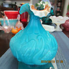 BEAUTIFUL RARE FENTON SWAN VASE 8  TALL