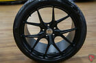 Ford FORD GT 20 HRE Wheels P101 Forged Satin Black 295 30 R20 AND 305 30 R20