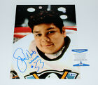 SHAUN WEISS SIGNED 'THE MIGHTY DUCKS GOLDBERG' 11x14 PHOTO BECKETT COA BAS PROOF
