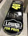 AUTOGRAPHED 2018 JIMMIE JOHNSON 48 LOWES FOR PROS 1 24 NASCAR DIECAST